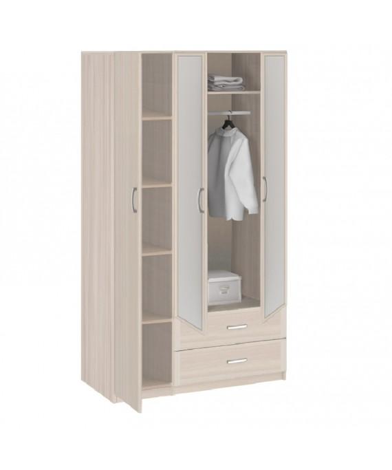Шкаф 3-х Дверный с зеркалом 8.032z