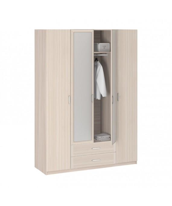 Шкаф 4-х Дверный c зеркалом 8.04z