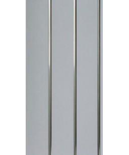 ПВХ серебро 3000x240x8мм