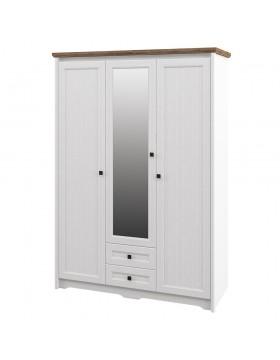 Шкаф с зеркалом для одежды  (Тиволи) МН-035-23