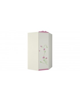 Угловой шкаф для одежды Розалия ШУ-1ПД1