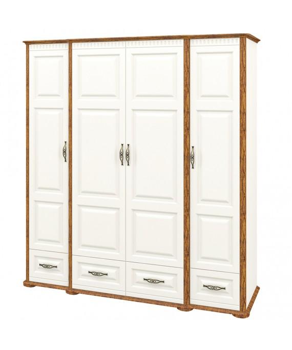Шкаф для одежды   (Марсель_крем) МН-126-04