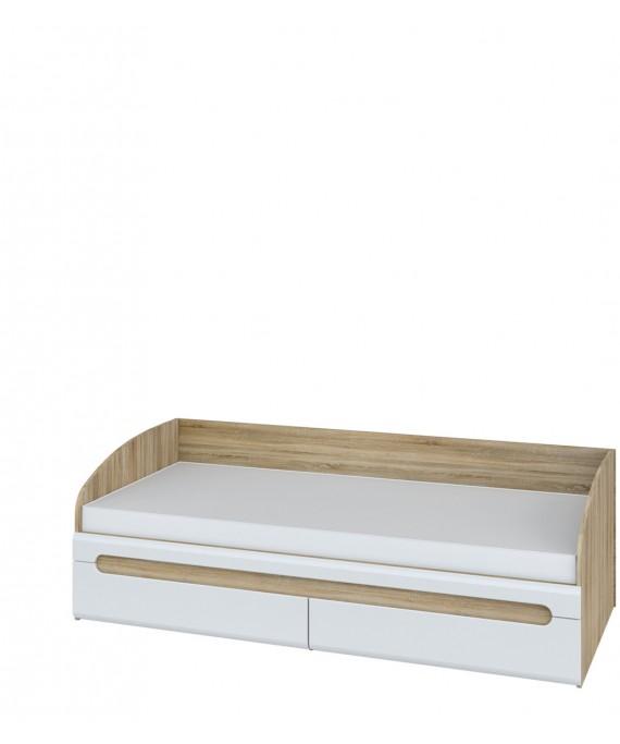 Кровать односпальная  (Леонардо) МН-026-12