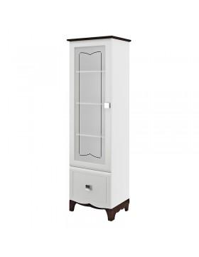 Шкаф с витриной (Тиффани) МН-122-24