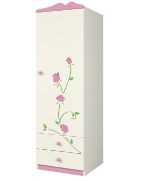 Шкаф для одежды (Розалия) Ш60-1Л