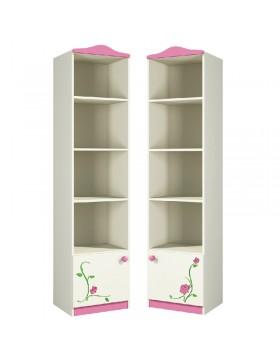 Шкаф открытый в детскую (Розалия) Ш45-1П(Л)
