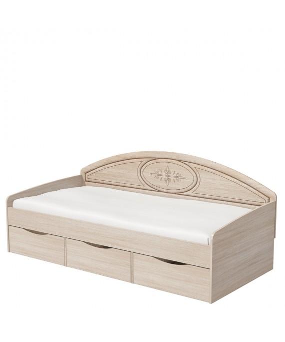 Кровать односпальная (Василиса) СП-001-12П