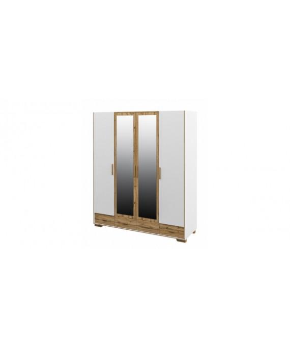 Шкаф четырехстворчатый Сканди МН-036-34
