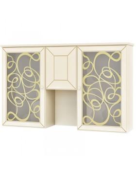 Шкаф с витриной (Гармония) МН-120-16
