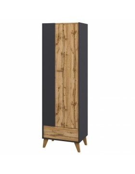 Шкаф комбинированный 5 Сканди Графит