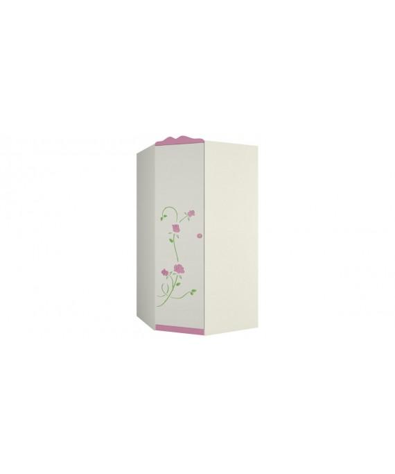 Угловой шкаф для одежды Розалия ШУ-1ЛД1