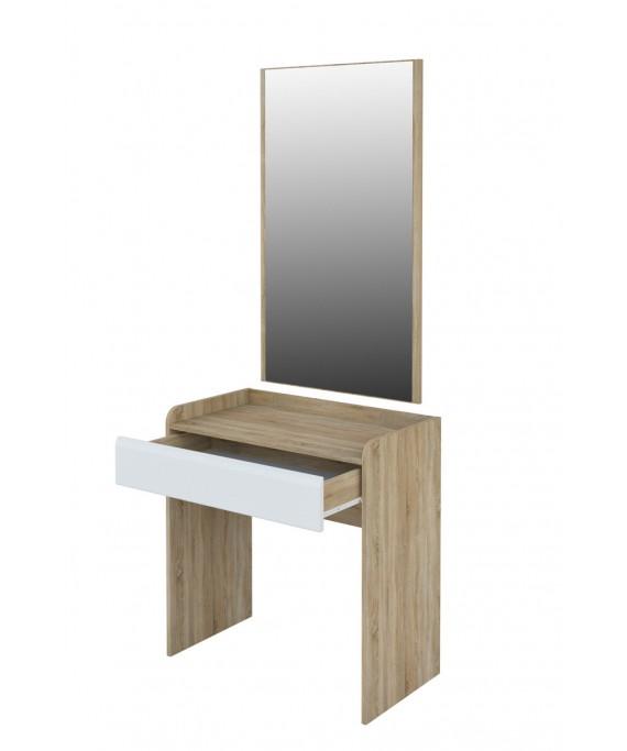 Стол с зеркалом  (Леонардо) МН-026-13