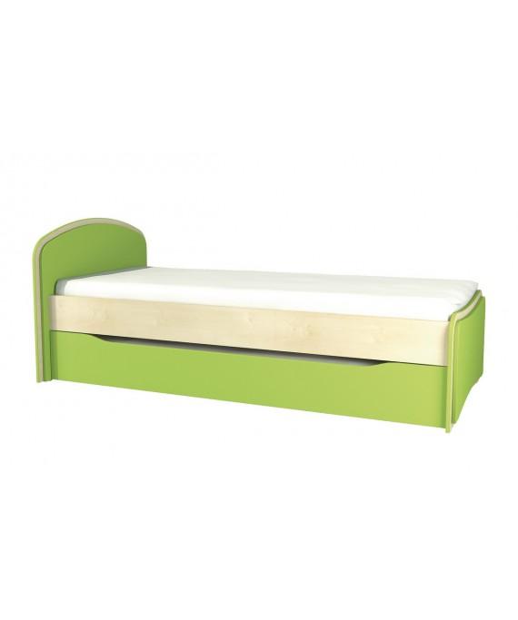 Кровать в детскую  (Комби) МН-211-09