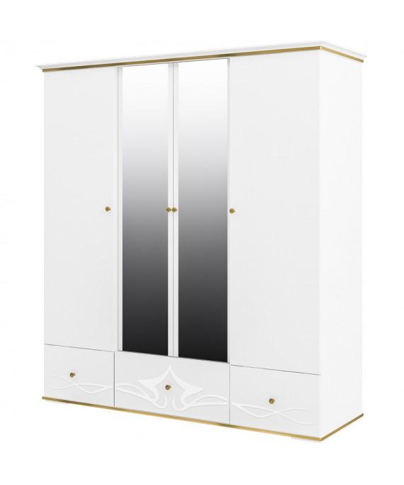 Шкаф (прямой фасад) для одежды  (Либерти) МН-313-05