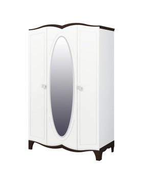 Шкаф для одежды с зеркалом (Тиффани) МН-122-03