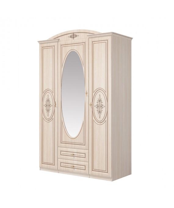 Шкаф с зеркалом  (Василиса) СП-001-03П
