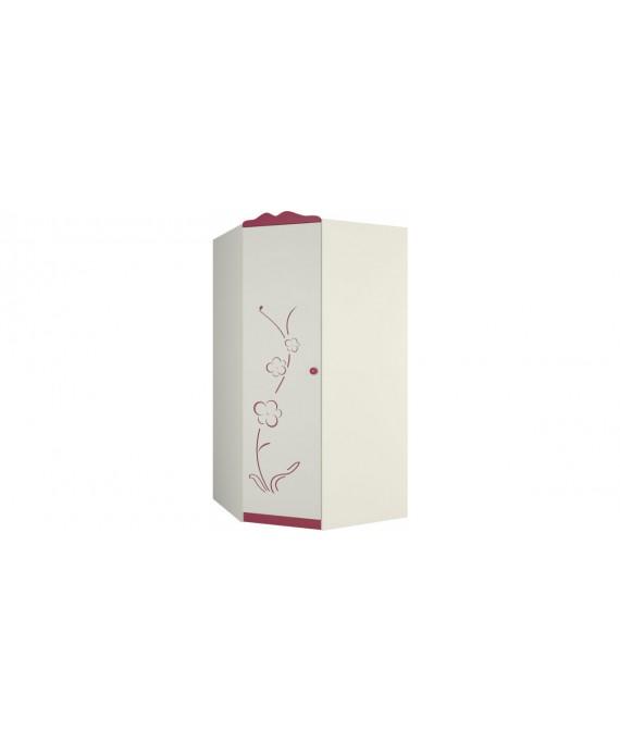Угловой шкаф для одежды Сакура ШУ-1ЛД0